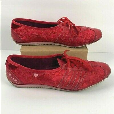 adidas sleek series red