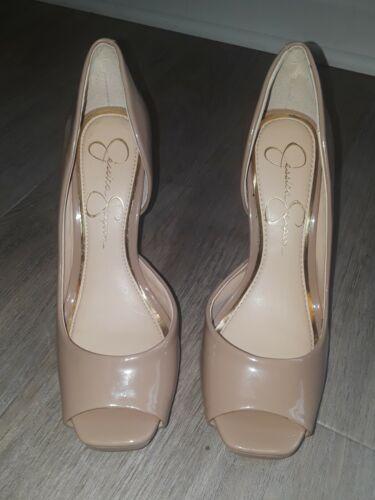 Jessica Simpson Heels Size 7 Nude