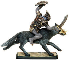 Salute Zero Eight Mithril Miniatures Collectors Series Goblin Chieftain on Wolf