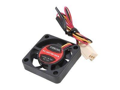 5V 3 //4 Pin  EC3007M05CA EverCool 30mm X 30mm X 7mm Fan