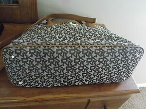 cheap online stores NWT DKNY T&C w/ French Grain Leather Satchel ...