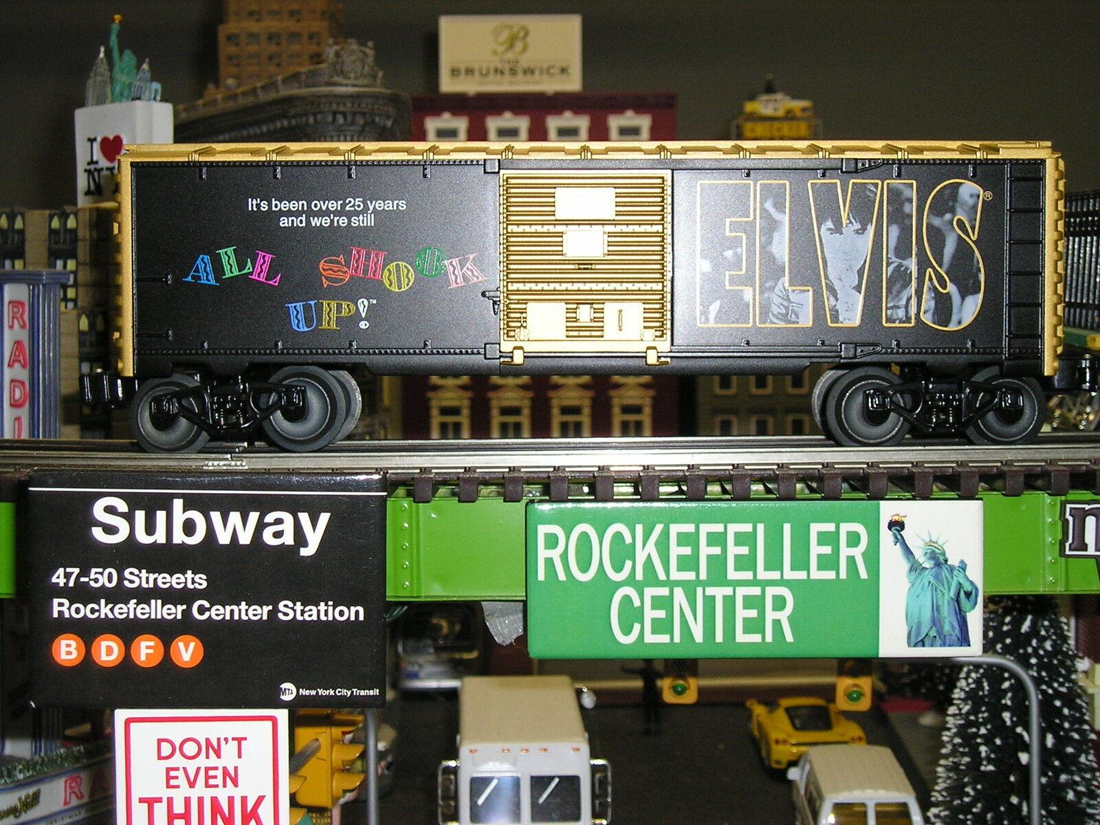 Elvis Presley Lionel  o  Gauge Giocattolo i treni Tutti Shook Up Vagone 639258