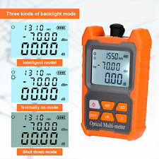 Portable Ftth Fiber Optic Optical Power Meter Cable Tester 706 Dbm Backlight