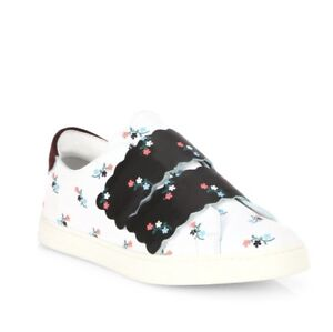 $795 Fendi Sneakers Floral Leather Sale