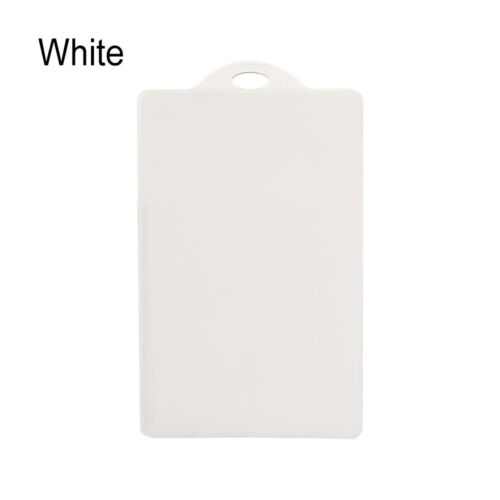 Fasion Waterproof Transparent PVC Student Business Bank ID Credit Card Holder
