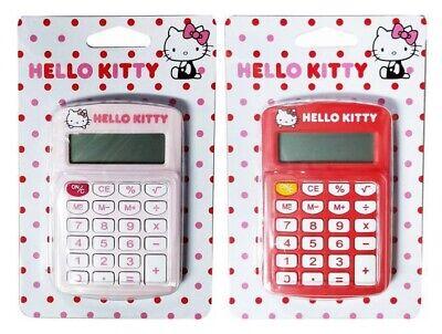 Cute My Melody Little Twin Stars Calculator School Office 12 Digits Work Travel
