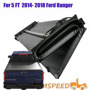 Soft Tri-Fold Fits 2014-2018 Ford Ranger 5 ft tonneau cover short bed waterproof