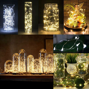 20-30-50-LED-BATTERY-MICRO-SILVER-WIRE-STRING-FAIRY-PARTY-XMAS-WEDDING-DIY-LIGHT