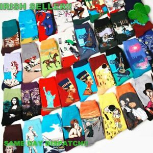Socks-Paintings-amp-Artists-Novelty-Gifts-23-X-different-styles-to-choose-from