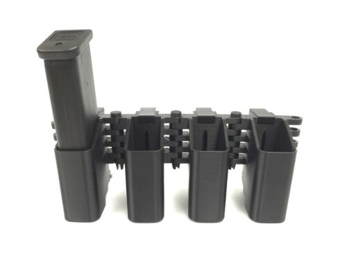 Glock MagP0151-B eAMP Challenger 17,19,22,23,26,31,35,37,44 2 Mag Pouch