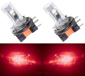 LED Fog Light CREE XBD High Power Bulbs COB 880 DRL Daytime Lights Ice Blue R