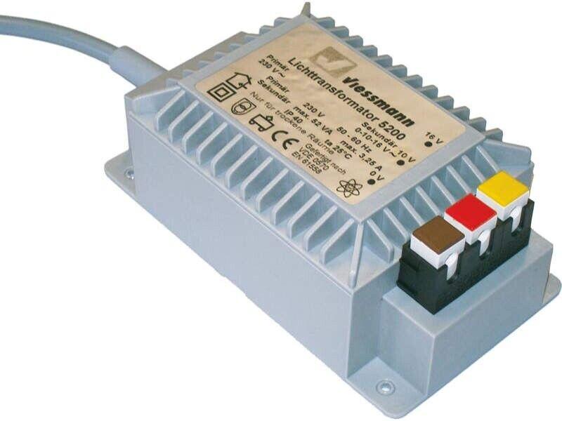 ViesshomHommes 5200  lumière Transformer 16 V, 52 VA, suitable for all wheel Tailles  livraison rapide