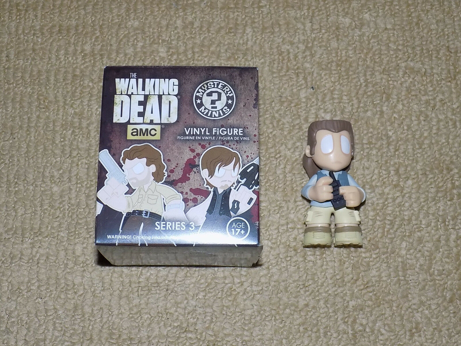 FUNKO, EUGENE PORTER MYSTERY MINIS HOT TOPIC EXCLUSIVE THE WALKING DEAD SERIES 3