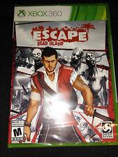 Xbox 360 Escape Dead Island Game  BRAND NEW SEALED Xbox360