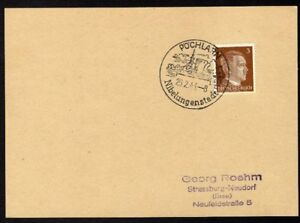 Allemagne-n-706-Yv-cachet-WW2-POCHLARN-Timbre-Allemand-Hitler-Mi-782