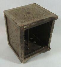 Antique / Vintage Kenton Brand Cast Iron Safe Cion Saving Bank Sold for parts