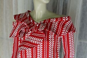 BNWT-SIZE-6-RED-WHITE-MOSSMAN-PEARL-DETAIL-TOP-BLOUSE-POST-ANY-5-FREE