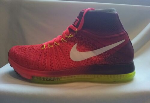 ginnastica Crimson Uk6 Nike da Taglia 40 volt Novità Zoom Flyknit Scarpe Donna All wHqOAU