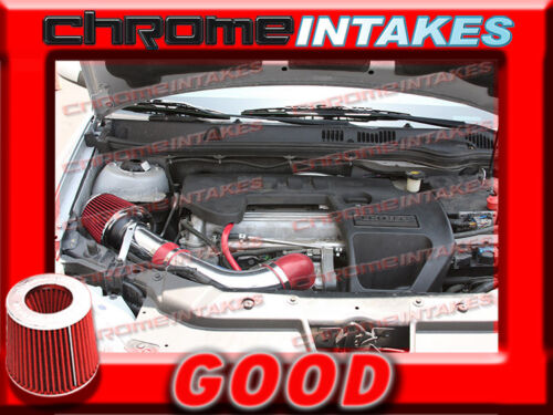 RED 05 06 07 08 09 10 CHEVY COBALT BASE//LS//LT//XFE 2.2 2.2L I4 FULL AIR INTAKE