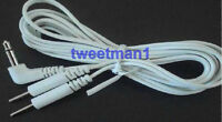 Electrode Lead Wires 3.5mm Compatible W/erostek Estim Unit/tens Machine W/3.5mm