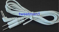 Electrode Lead Wires 3.5mm Compatible W/erostek Estim Unit/tens Machine W/3.5mm