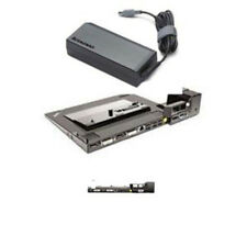 NEW Lenovo Thinkpad T410 W510 Mini Docking Station PLUS 4338 + 135W AC Adapter