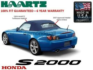 Image Is Loading Honda S2000 2002 2008 Convertible Soft Top Amp