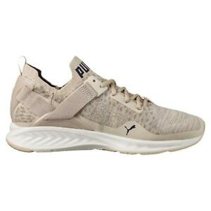 abfbeb80e3a1 Details about Mens PUMA IGNITE EVOKNIT LO PAVEMENT Oatmeal Trainers 189926  02