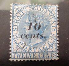 Strait Settlements stamp #34 used VF