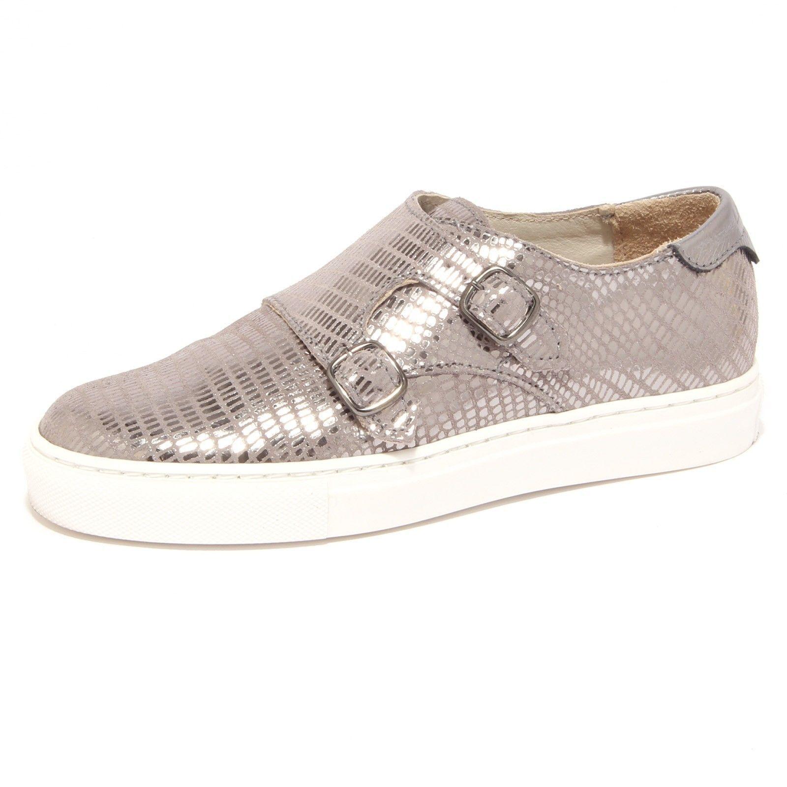 Zapatos Zapatillas Mujer Liu Jo Monk Strap Marie S16107 P0188 04155 Peltre Met