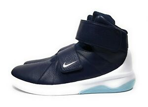 Details about Nike Marxman Mens Hi Top Basketball Shoes Obsidian Blue White  Size 12