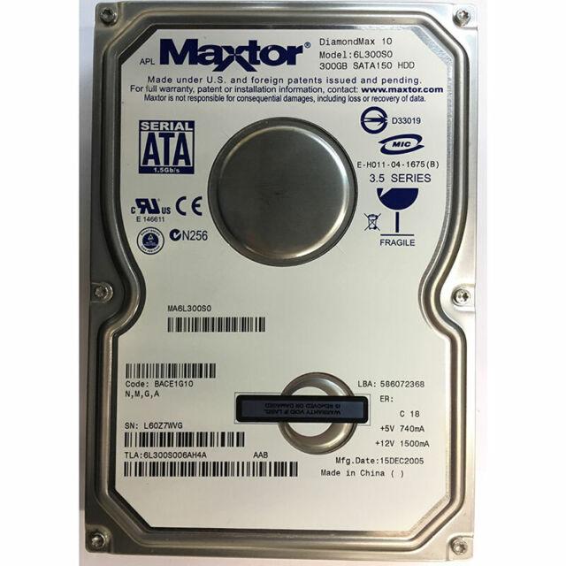 MAXTOR 6L300S0 WINDOWS 7 X64 DRIVER