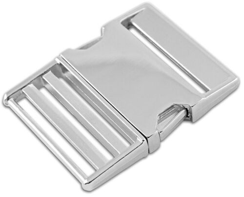 1-2 inch Metal Side Release Buckles