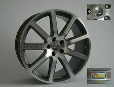 MTM Bimoto Felge 10x20 ET 35 30 Titanpoliert 5x112 57,1 66,5 Audi VW Alufelge