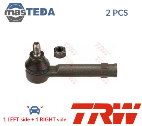 2x TRW FRONT OUTER TRACK ROD END RACK END PAIR JTE527 P NEW OE REPLACEMENT