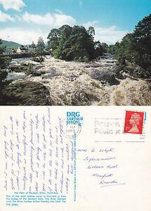 1993-THE-FALLS-OF-DOCHART-KILLIN-STIRLINGSHIRE-SCOTLAND-COLOUR-POSTCARD