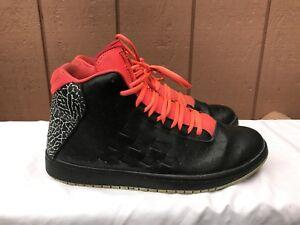 4aa0e00be5de3 Details about NIKE 705141 008 Jordan Illusion Men's US 10.5 Basketball  Sneaker Black Infrared
