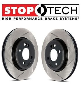 StopTech Brake Disc and Pad Kits 4-wheel set Front /& Rear Left+Right LH RH