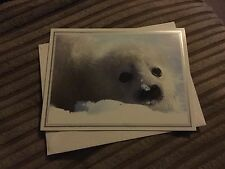 White seal card / notelet