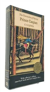 Prince-Caspian-Chronicles-of-Narnia-Box-Set-Includes-Book-and-Audio-CDs-New