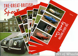 Motor-Magazine-British-Sports-Cars-1980s-Trade-Cards