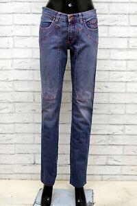 Pantalone-Donna-JECKERSON-Taglia-26-40-Jeans-Pants-Woman-Cotone-Gamba-Dritta