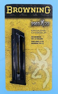 BROWNING 1911 22 LR 10 Round MAGAZINE 112055191 STEEL FAST SHIP