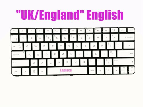 New UK Silver backlit keyboard for HP 13-4010ca//13-4020ca//13-4021ca//13-4030ca