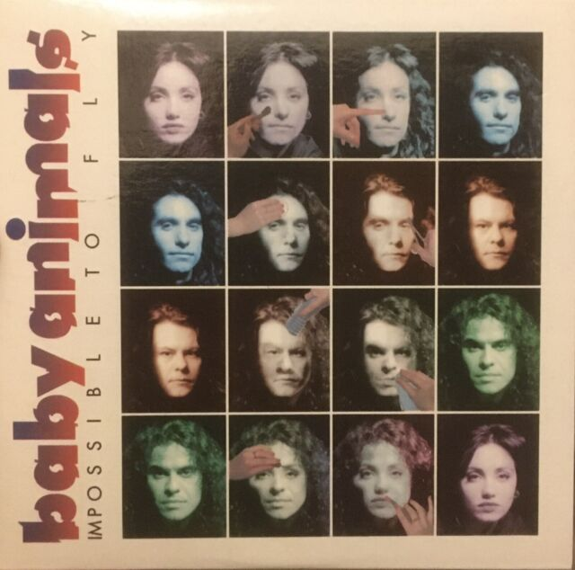 BABY ANIMALS Impossible To Fly Rare Oz Cd Single