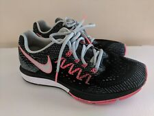 the latest 982c0 8da04 Nike Air Zoom Vomero 10 Womens 717441-401 Ice Black Lava Running Shoes 9