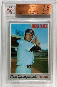 1970 Topps #10 Carl Yastrzemski BVG 7.5 Boston Red Socks