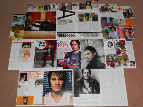 30+ GAEL GARCIA BERNAL Magazine Clippings