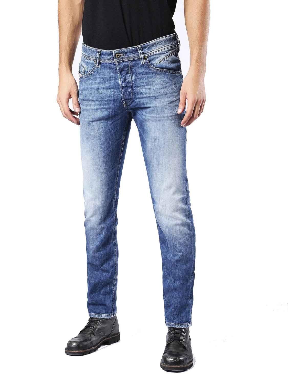 Diesel  belther 0859r caballeros Jeans Hose regular slim Straight  grandes ofertas