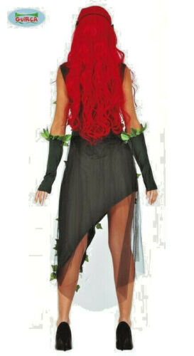 Mesdames Plant Villain Costume Ivy Robe Déguisement Halloween Femme Costume UK